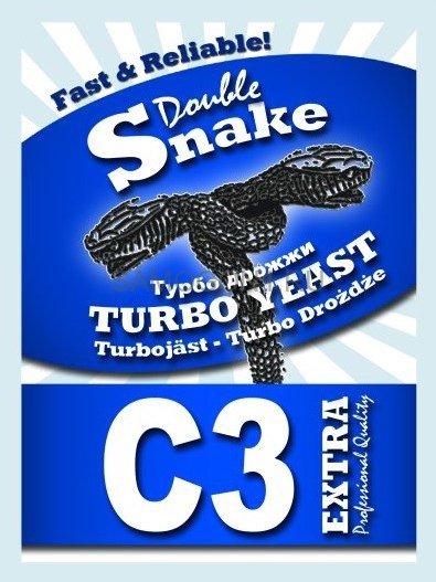 Дрожжи спиртовые Double Snake Turbo Yeast C3 90 гр. в городе Уфа - Самогон1.Ру